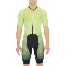 UYN Integrated Tuta da ciclista Uomo, giallo/nero